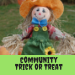 Community Trick or Treat sponsored by the Ellsworth Public Library