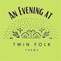 "Ellsworth Public Library presents ""An Evening at Twin Folk Farms."""