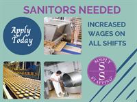 Sanitors Needed
