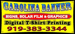 Carolina Banner Signs & Shirt Printing
