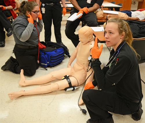 Emergency Medical Science is just one of the programs offered at the Durham Tech Orange County Campus.
