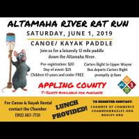 River Rat Run Canoe Paddle