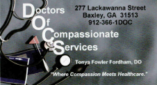 Doctor's of Compassionate Services Inc.