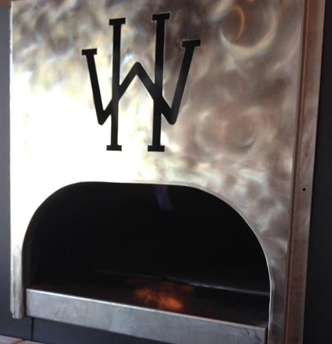 Our wonderful brick oven