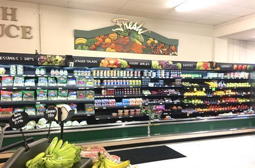 Davis' Produce Department