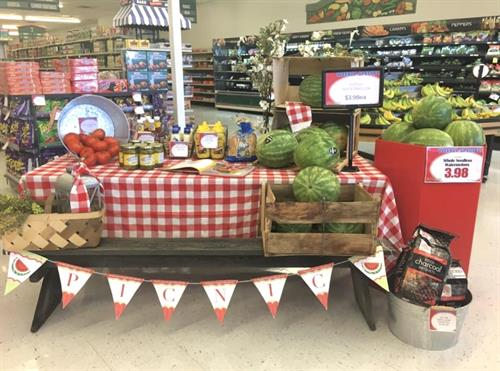 Summer Time Picnic Fun with Fresh Produce