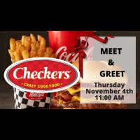 Checker's Meet & Greet