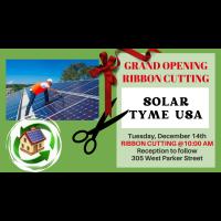 Ribbon Cutting / Solar Tyme USA