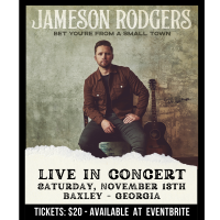 JAMESON RODGER LIVE IN CONCERT / BAXLEY GA