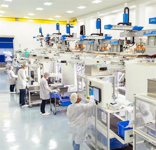 Cleanroom injection molding at the Healthcare Center of Excellence in Germantown