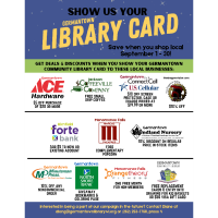 News Release: Show us your Library Card