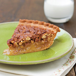 how about that pecan pie.