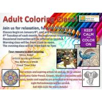 Adult Coloring Classes