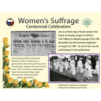 Women's Suffrage Centennial Celebration