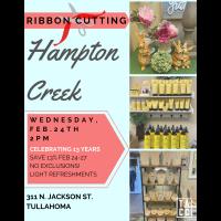 Anniversary Ribbon Cutting: Hampton Creek