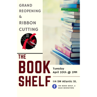 Grand Reopening & Ribbon Cutting:The Book Shelf