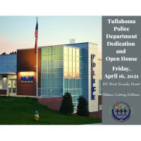 Ribbon Cutting: *NEW* Tullahoma Police Department