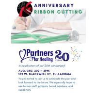 Anniversary Ribbon Cutting: Partners for Healing