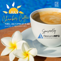 July Chamber Coffee hosted by Resource MFG