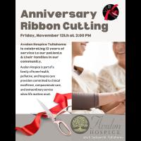 Anniversary Ribbon Cutting: Avalon Hospice