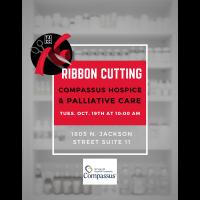 Ribbon Cutting: Compassus Hospice & Palliative Care