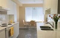 Kitchen - New cabinets, quartz counters and back-splash