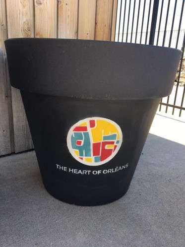 BIA Branded large planters