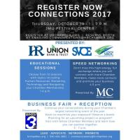 Connections 2017 Presented by Union Bank & Trust, Shenandoah Valley Office Equipment, Harrisonburg-Rockingham Chamber of Commerce and Shenandoah Valley Small Business Development Center