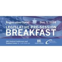 Legislative Pre-Session Breakfast 2018