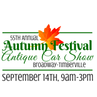 Broadway-Timberville Autumn Festival and Antique Car Show - SAVE THE DATE