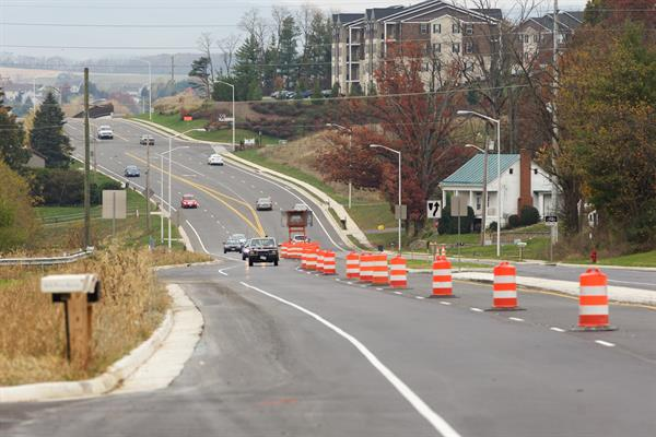 Harrisonburg ByPass under construction