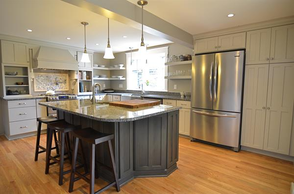 Beautiful two-tone kitchen in Bayse, VA