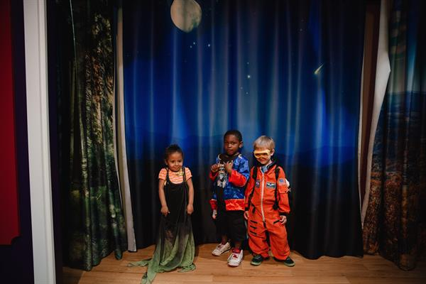 Lights, Camera, Action! Young performers love the Virginia Theater stage.