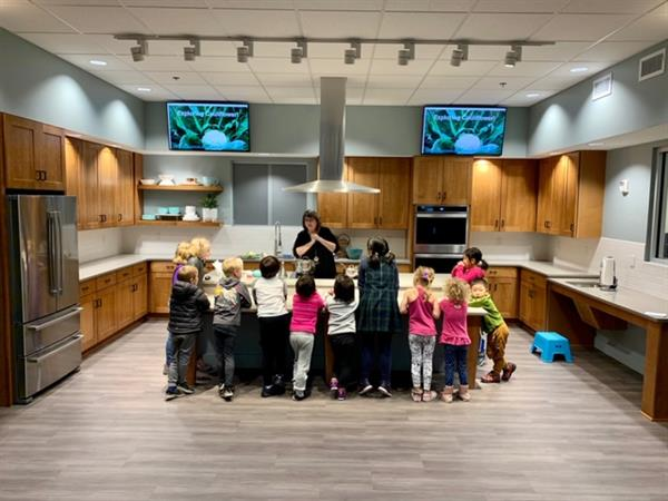 The new 3rd floor teaching kitchen is a hit. Check out the programs at iexploremore.com/cooking.
