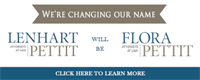 Lenhart Pettit Announces Name Change to Flora Pettit