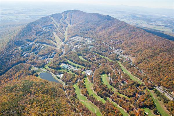 Massanutten Kettle area and slopes