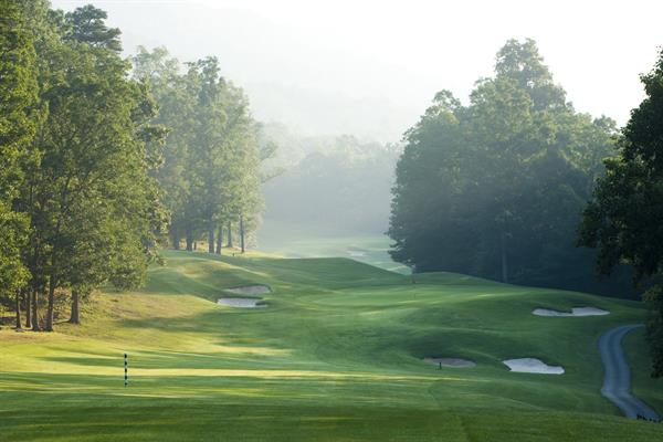 Two, 18-hole golf courses