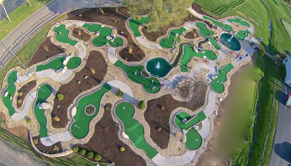 BRAND NEW Miniature Golf Course For 2016!