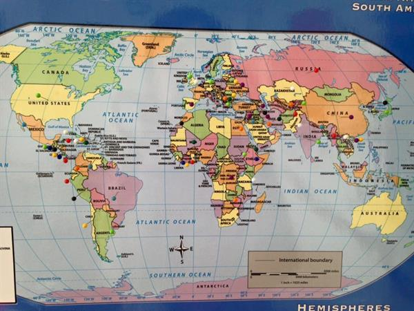 Skyline Literacy Learners come from 64+ countries!