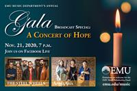 EMU's Gala Concert to offer evening of hope, inspiration and musical eclectica