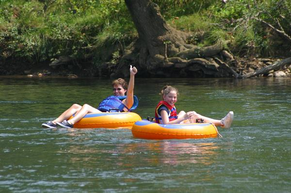Tubing trips are offered Memorial Day to Labor Day.