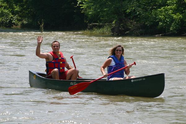 Enjoy a canoe trip down the beautiful Shenandoah River!