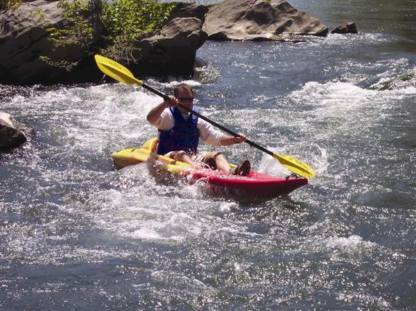 A kayak trip on the Shenandoah River is always a fun adventure!