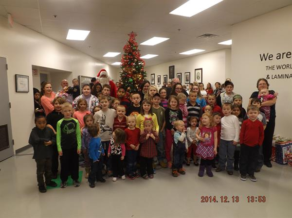 Christmas Party for our little ones