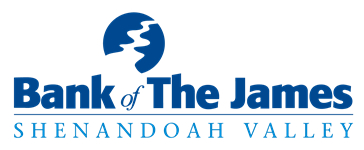 Bank of the James    Shenandoah Valley