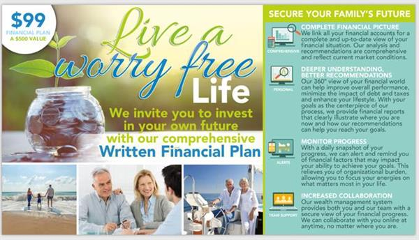 $99.00 Comprehensive Financial Plan