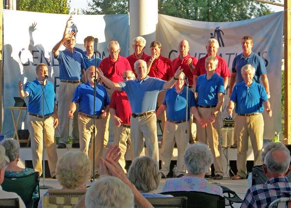 Harmonizers Singing At Bridgewater Park
