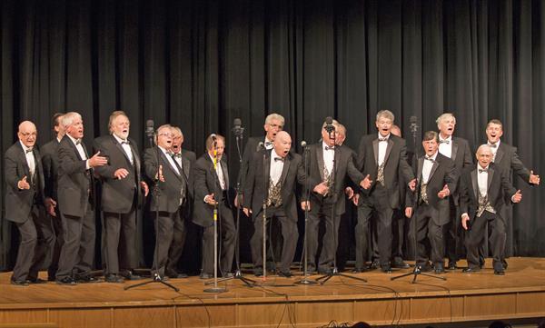 Harmonizers On Stage