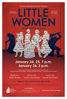 Little Women, the musical, at Eastern Mennonite School, Jan. 24, 25 and 26