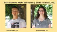 Two EMHS National Merit Semi Finalists Named